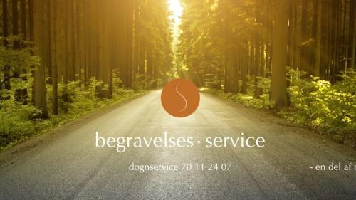 Begravelses Service - Bedemand