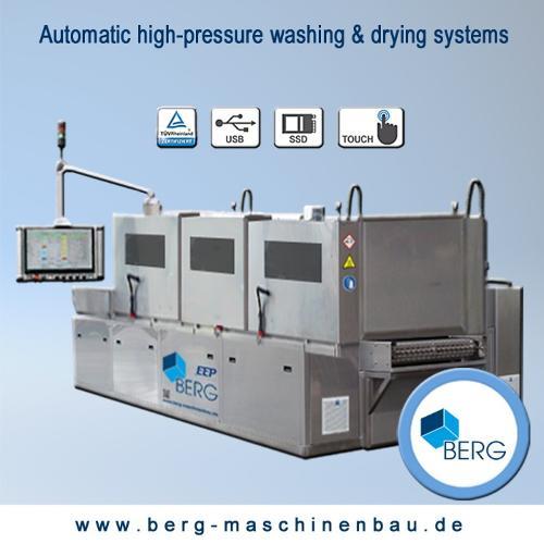 Système de lavage & de séchage automatique