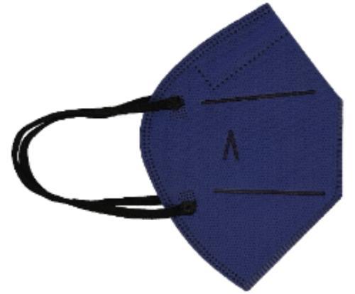Hygienic Mask Plus Reusable COBALT BLUE
