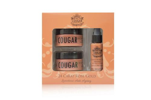 Cougar Beauty 24 Carat Rose Gold Trio Set