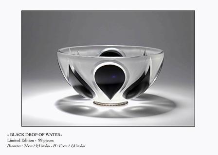 coupe en cristal de luxe