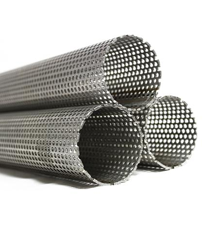Stainless Steel Exhaust Tube - Perforated