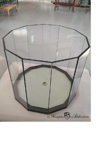 Aquarium en verre 12 coins