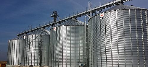 Les silos industriels à fond plat