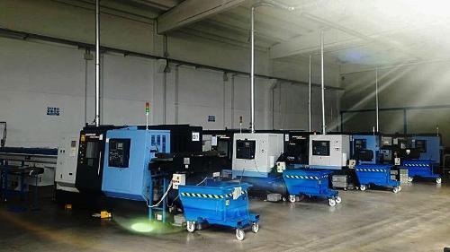 Lavorazione con macchine di precisione CNC
