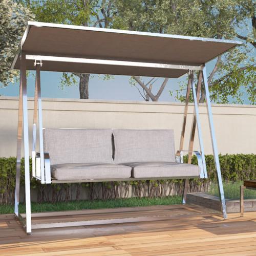 HRP Furniture Paslanmaz Çelik Bahçe Salıncağı