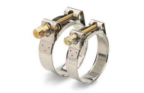 Hinge bolt clamps