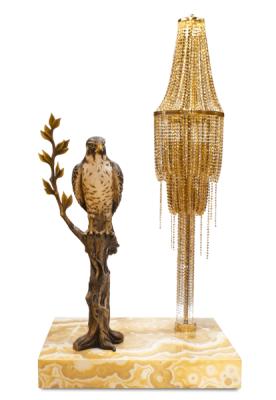 ABDELKADER Crystal Chandelier Floor Lamp