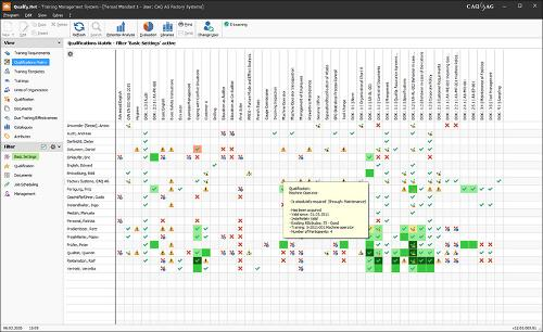 Qualify.Net - Training Management / E-Learning Software