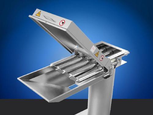 Séparateur magnétique autonettoyant pour poudre et granulat
