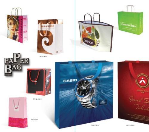 Kağıt torba tasarımı ve üretimi