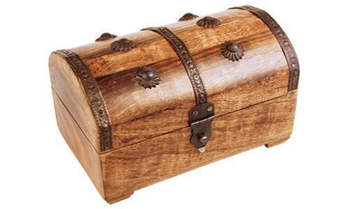 """Holztruhe """"Steuermannsbox"""""""
