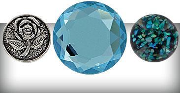 Chunks Beads Buttons Clicks PK2