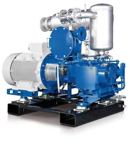 AERZEN Biogas Aggregat C ölfrei