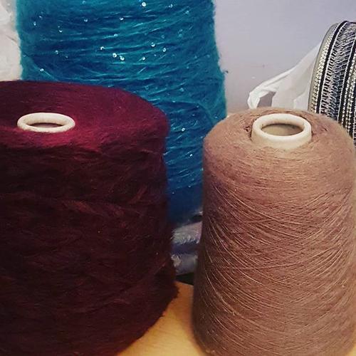 filati e tessuti made in italy a stock
