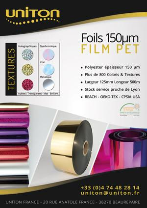 FILM PET - Foils 150µm