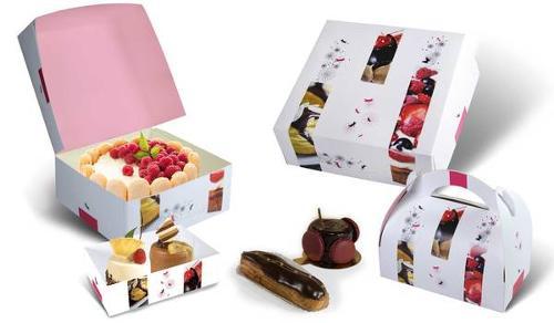 Boites pâtissières & caissettes