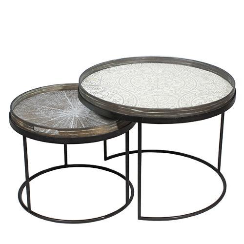 Notre monde - Set de petites tables