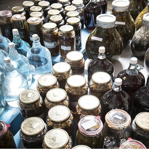 Extraits hydro-alcooliques glycérinés alimentaires