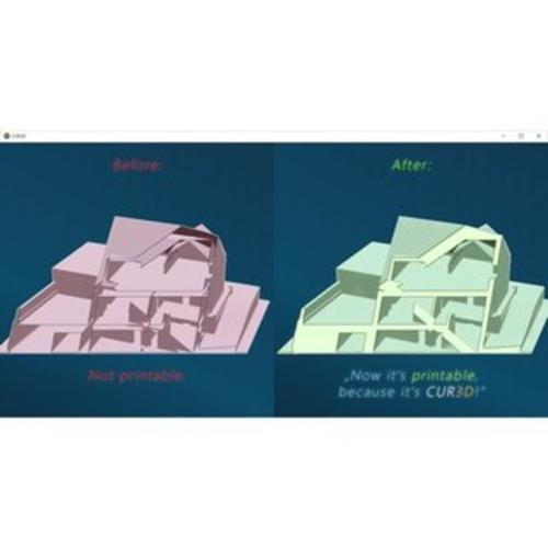 CUR3D Professional - professionelle 3D Software