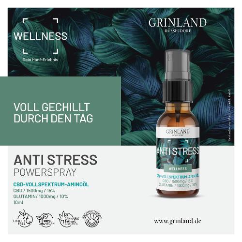 ANTI STRESS - CBD 15% / GLUTAMIN 10% - 10 ml