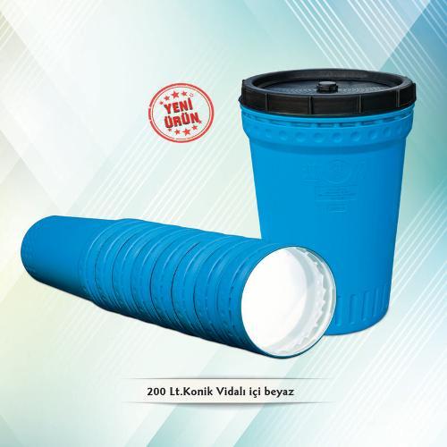200 lt Nestable Plastic Drum