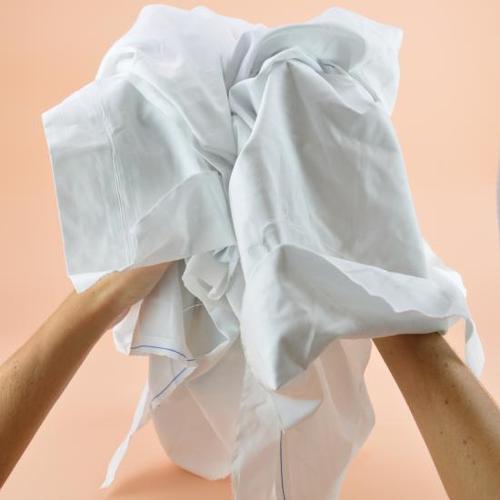 Chiffon drap optique supérieur blanc 100 % coton...