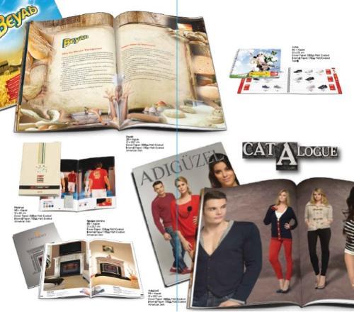 Katalog tasarımı ve baskısı