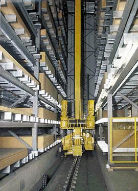 Heavy-duty stacker crane – AS/RS for heavy-duty