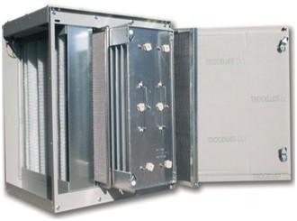 elektrostatischer Filter für Stäube und Emulsionsnebel