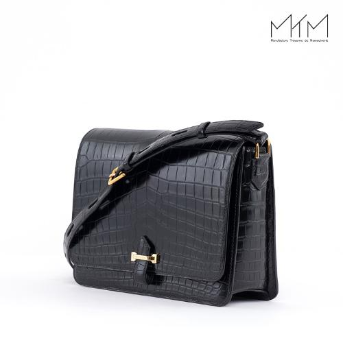Long flap ladies bag