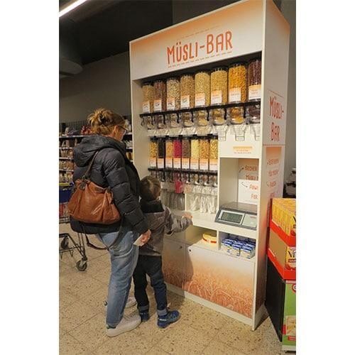 Self Dispense Cereal Cabinet