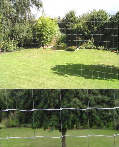 Cat protection net | Nylon (PA) | twine 0,50mm Ø | width 1m