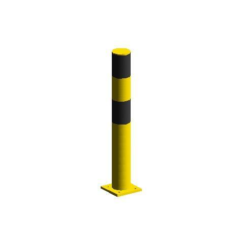 Бампер вертикальный одинарный