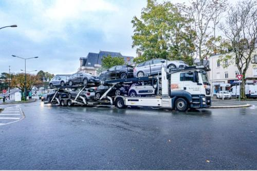 Transport par porte-voitures