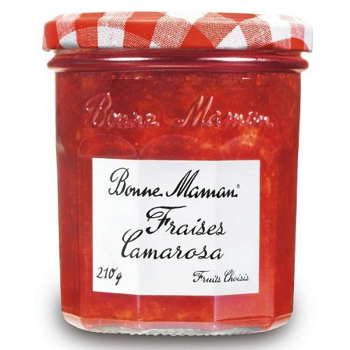 Confiture de fraises camarosa 210g - BONNE MAMAN