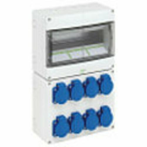 GTi-ISO-Schaltanlagen - Gehäuse mit Betriebsmitteln
