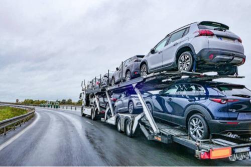 Transports de véhicules d'occasion