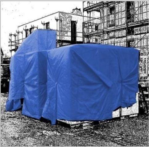 Bâche plate 150 gr/m²