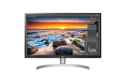 LG Monitor 27UL850-W silber