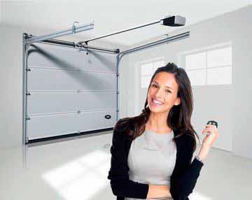 Motor para puertas de garaje Easy-tec