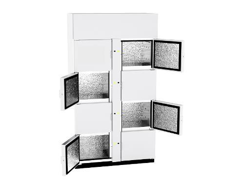 GSIDRIVE Module esclave 8 casiers réfrigérés