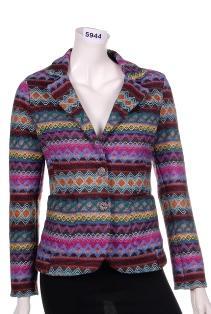 Jacket Knitwear effect