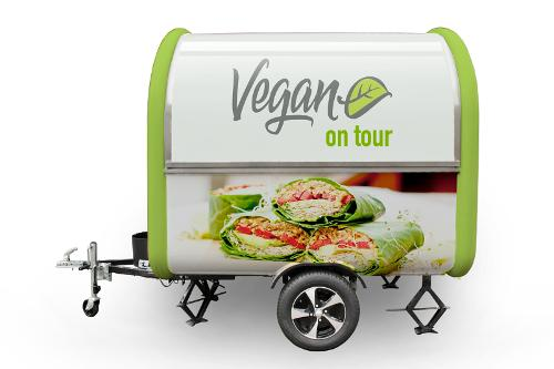 Foodtruck Anhänder Buddystar Vegan
