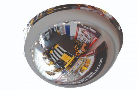 Miroir Coupole 360° Ø60 En Polycarbonate