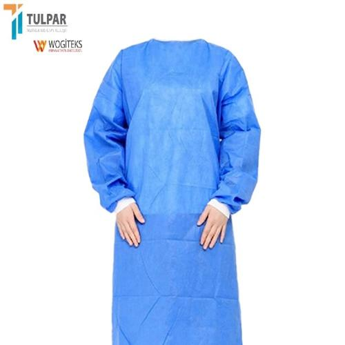 EN13795 SMMS level 3  disposable reinforced  sterile gown