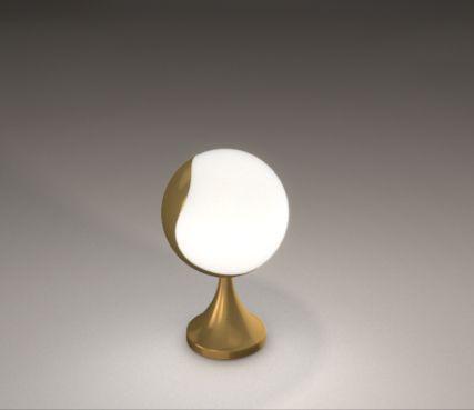 Rotating design lamp