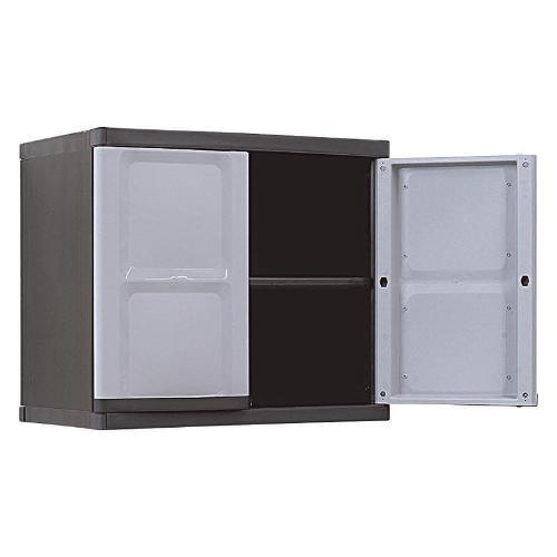 S-06934, Conceptô, Wall Cabinet Black/ Grey