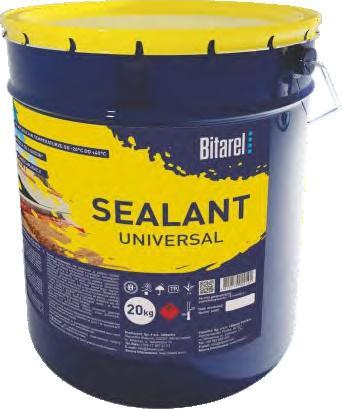 Bitumen universal sealant (solvent-based) BITAREL