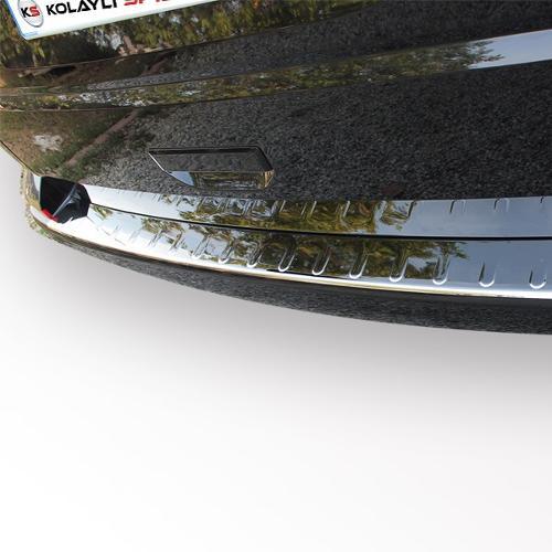 Rear Bumper Plate Stainless Steel